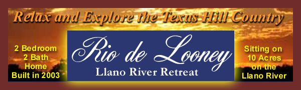 Rio de Looney 2 Bedroom 2 Bath House on the Llano River