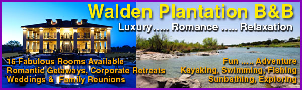 Walden Plantation Bed & Breakfast in Llano, Texas