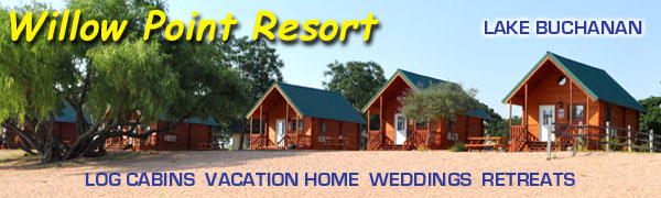 Willow Point Resort on Lake Buchanan, Texas
