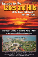 View the Highland Lakes & Texas Hill Country Tourism Guide Book
