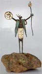 Sculpture by Bill Worrell, one of the artists featured at Miller Fine Art in Burnet, Texas
