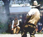 Witness an Old West gunfight in Burnet!