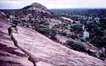 Enchanted Rock has been visited by humans for over 11,000 years