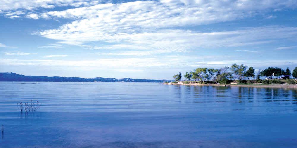 Lakes And Water Access In The Highland Lakes Area In The