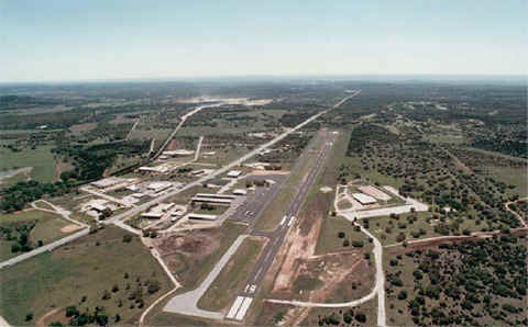 Burnet Municipal Airport Aerial View