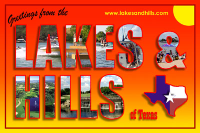 Lakes and Hills Postcard