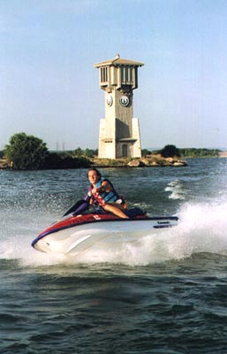 Jet Skiing on Lake LBJ